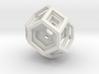 Encompassing Gem - Pendant 3d printed