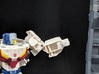 Replacement Hand Set for TF TR Chromedome Getaway 3d printed Replacement hand in robot mode