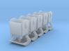 5x Abfallcontainer 1100L (1/220) # 3d printed