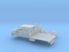 1/160 2003-09 GMC Topkick Crew Flatbed Kit 3d printed