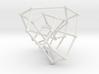 Tutte-Coxeter graph 3d printed