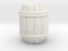 Barrel Stylized B 3d printed