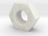 Mutter / Srew Nut metric DIN 934 M10 3d printed