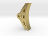 "3/4"" EMD Brake Shoe 3d printed"