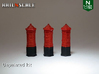 SET 3x Penfold Pillar Box (N 1:160) 3d printed