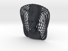 Wire Curve Art + Nefertiti (003d) 3d printed