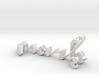 3dWordFlip: mark/frank 3d printed