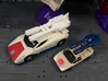 TF Combiner Wars Breakdown Car Cannon 3d printed Compared to G1 mold