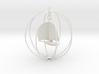 Sailboat ornament 3d printed