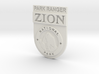 Zion Park Ranger Badge 3d printed
