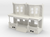 WEST PHILLY ROW HOME FRONT 87 TWINS 3d printed