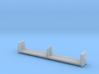 MEC & BAR Pulpwood Flatcar 1-87 HO Scale 3d printed