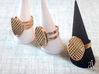 Two Stripe Ring 3d printed Stripes Collection