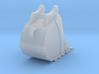 1:50 Trench Bucket +Spade teeth for 20T excavators 3d printed