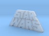 Star Wars Logo 1977 3d printed