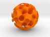 Gyroid, sphere cut 3d printed