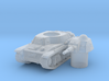 H 35 Tank scale 1/285 3d printed