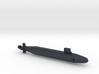 Seawolf-Class SSN, Full Hull, 1/2400 3d printed