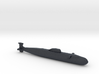 Victor Class SSN, Full Hull, 1/2400 3d printed