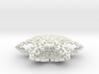 Victorian Christmas Ornament Snowflake 3d printed