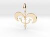 Royal Symbol Pendant 3d printed