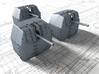 "1/192 RN 4"" MKV P Class Guns Closed Ports x5 3d printed 1/192 RN 4"" MKV P Class Guns Closed Ports x5"