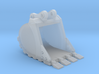 """1:50 36"""" PC138 Bucket+ Spade teeth 3d printed"""