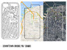 Downtown Brooklyn/ DUMBO Map iPhone 5/5s Case 3d printed