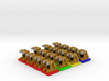 Track buffer stop tokens - Full Colour (12 pcs) 3d printed