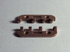 Snap Together 27mm x 15mm Micro Hinge - Stainless  3d printed Unassembled - As delivered