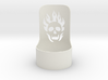halloween tealight skull 3d printed