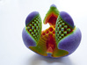Libidinis Hexagonis Coloratus (Touchable Fractal) 3d printed