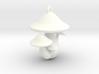 Mushroom Charm 3d printed