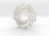 Wolf Lightsaber Tsuba 3d printed