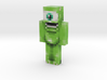 Mike | Minecraft toy 3d printed