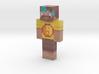 MMHippie   Minecraft toy 3d printed