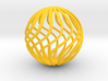Spherical Wave Ornament 3d printed