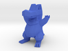 Low Poly Totodile 3d printed