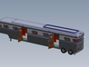 HO 1/87 Horsebox 1988 Streamliner 12 3d printed CAD render showing components fitted. There are several ramps also supplied.