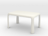 1:25 - Miniature Modern Dining Table  3d printed