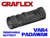 Graflex Padawan Var4 - Lightsaber Chassis  3d printed