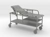 Hospital Gurney tilted rails-up 1:48 3d printed