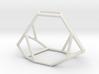 """Irregular"" polyhedron no. 2 3d printed"