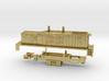 Z Scale EMD TR4 B-Unit (Calf) 3d printed