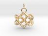 Celtic heart 3d printed