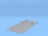 Schienenbefestigung Lasche für 15m Gleis 1:45 3d printed