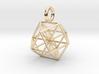 Vector Equilibrium - Cuboctahedron pendant - 21mm  3d printed