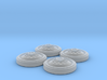 M24 Chaffee Inner Wheel Set 3d printed