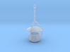 O Scale old time lamp 3d printed This is a render not a picture