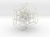 120-cell Orthographic Projection 2 3d printed